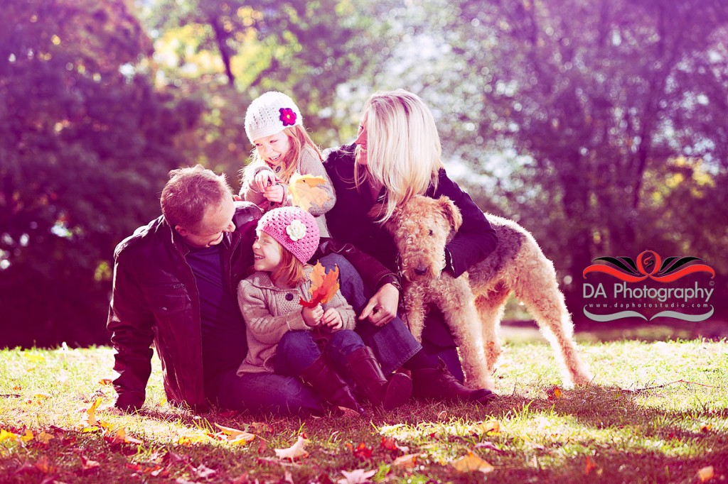 Family Portrait under the Tree