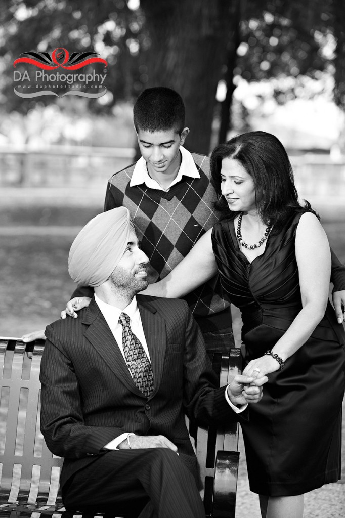 Indian Family Casual outdoor Portrait