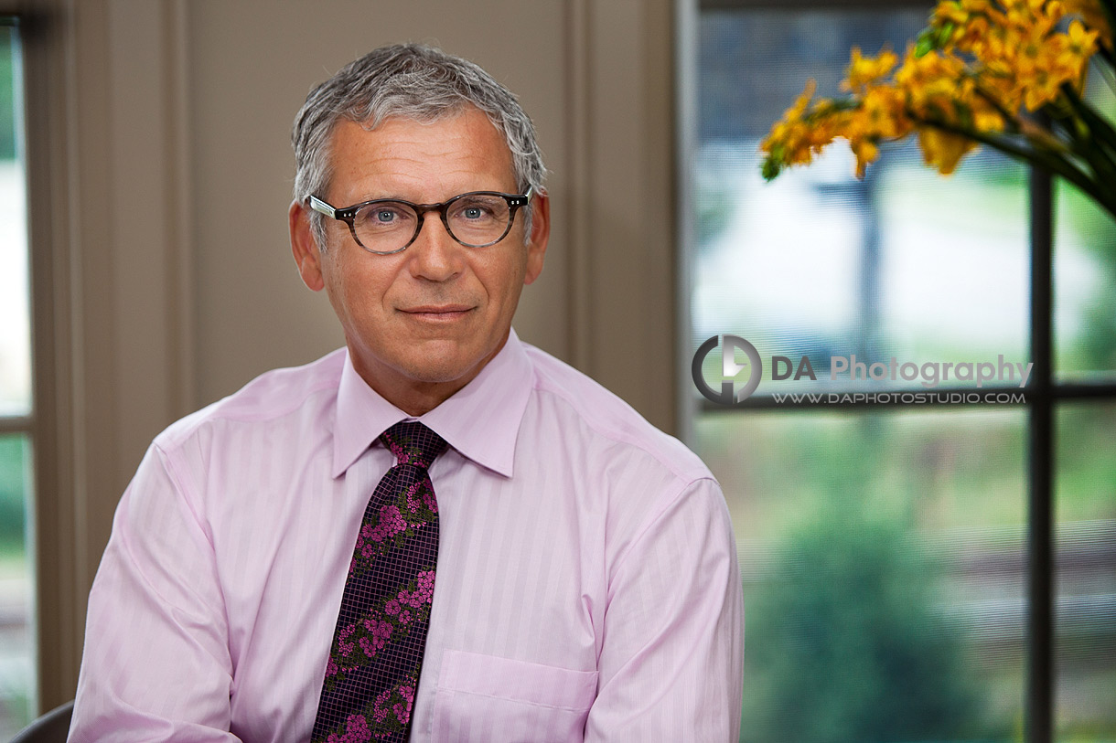 Dr. Kerhoulas - Dental Office Corporate Portrait - DA Photography