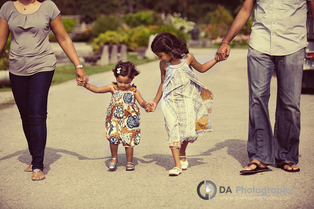 The girls at the centre of it all - Family Photography by DA Photography