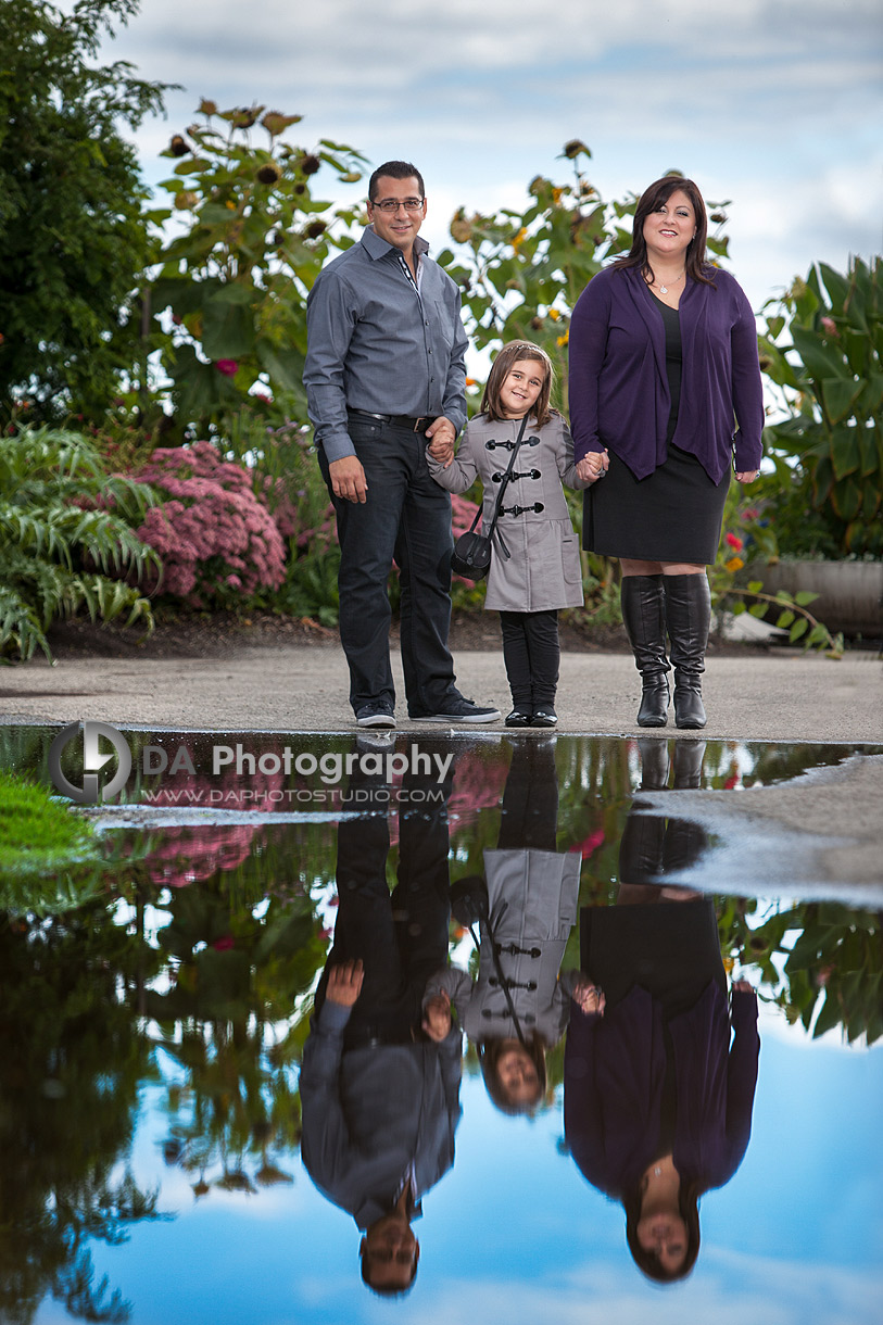 Reflections made from a puddle - DA Photography - Family Photography
