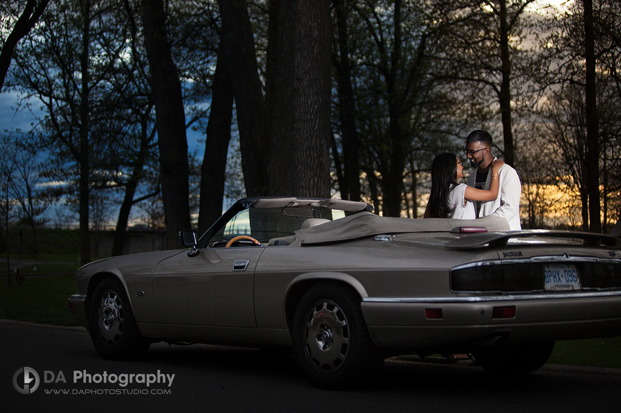 Sunset by Gatineau River - Engagement Photographer