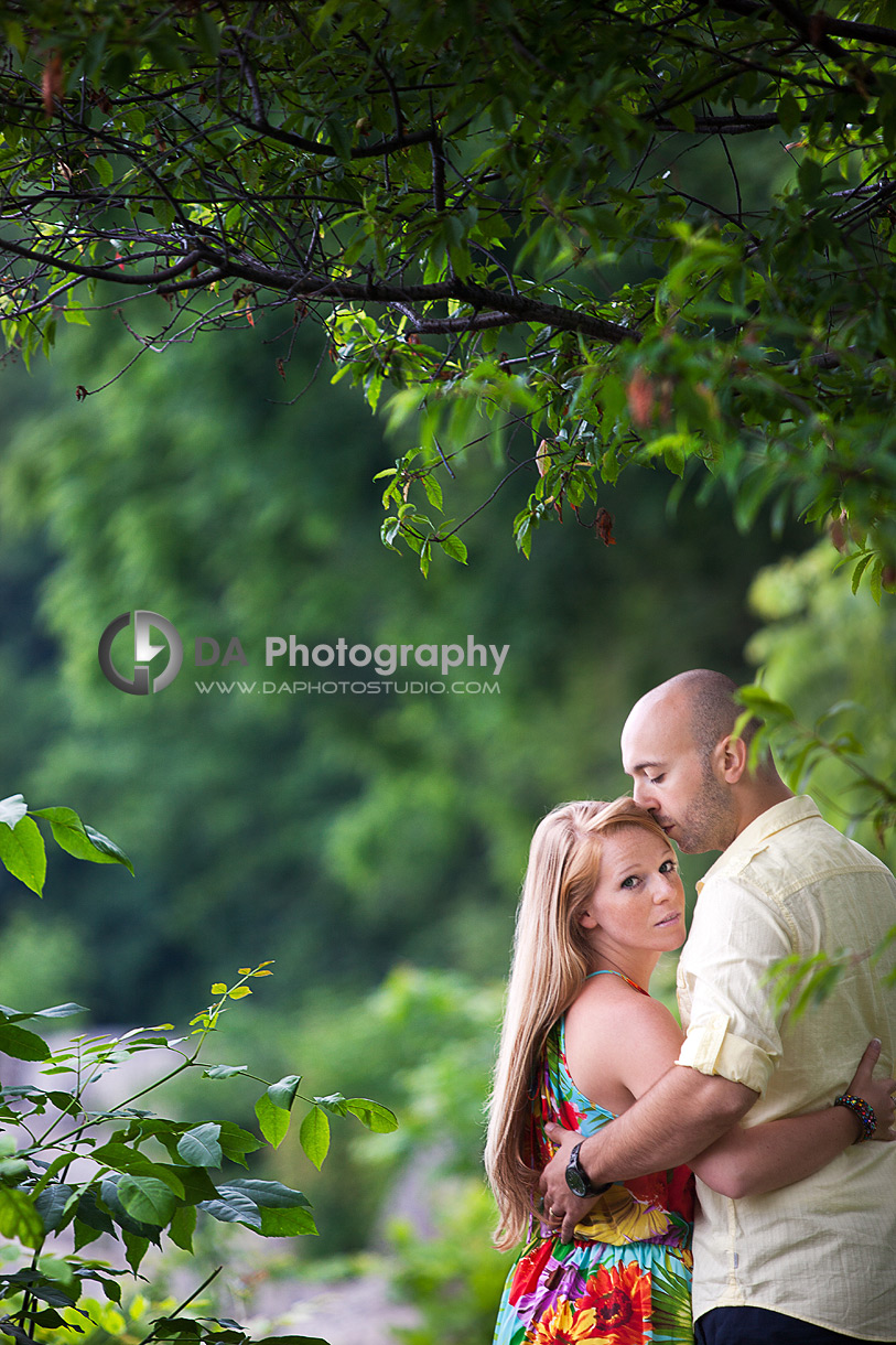 The happy couple in love - Engagement photographer
