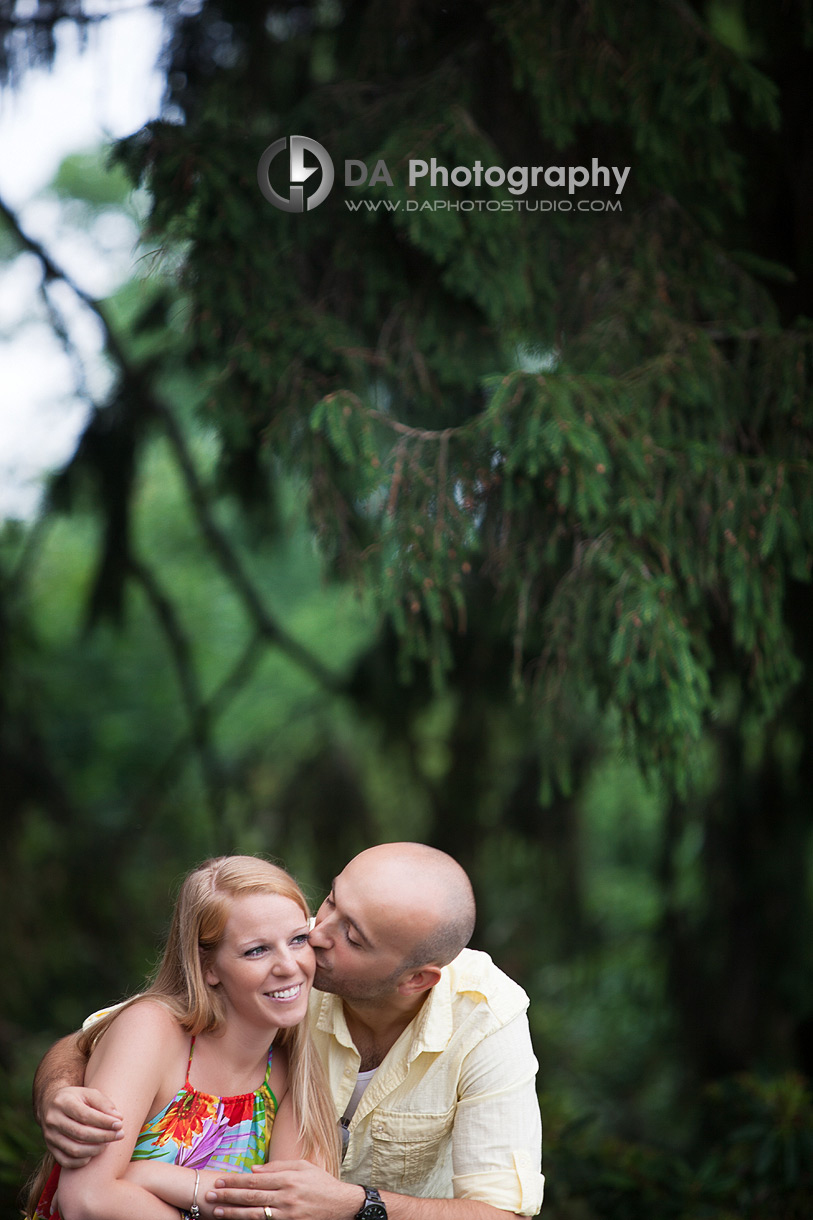 The happy bride-to-be - Engagement photographer