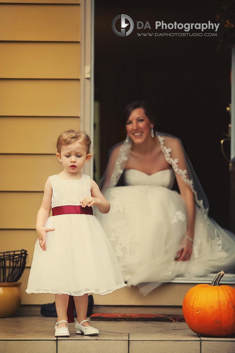 Lovely Flower Girl - DA Photography - Wedding Photographer