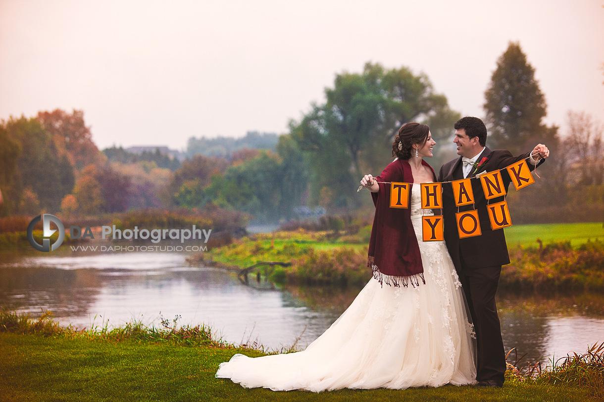 Thank-you Card Preparations - DA Photography - Wedding Photographer