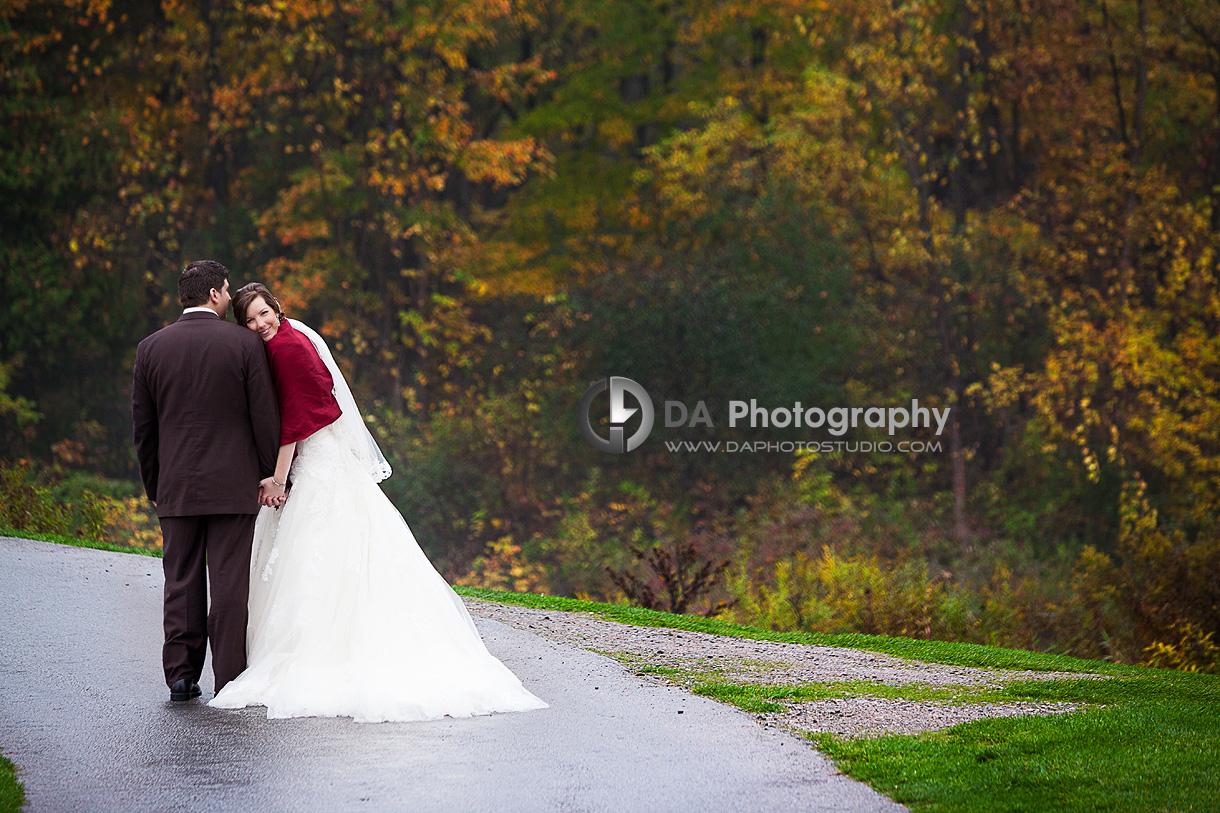 Gorgeous Fall Wedding Couple - DA Photography - Wedding Photographer