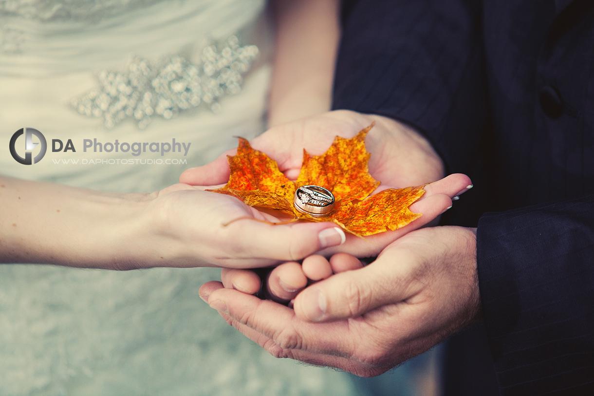 Using the Season as Unique Props - DA Photography - Wedding Photographer