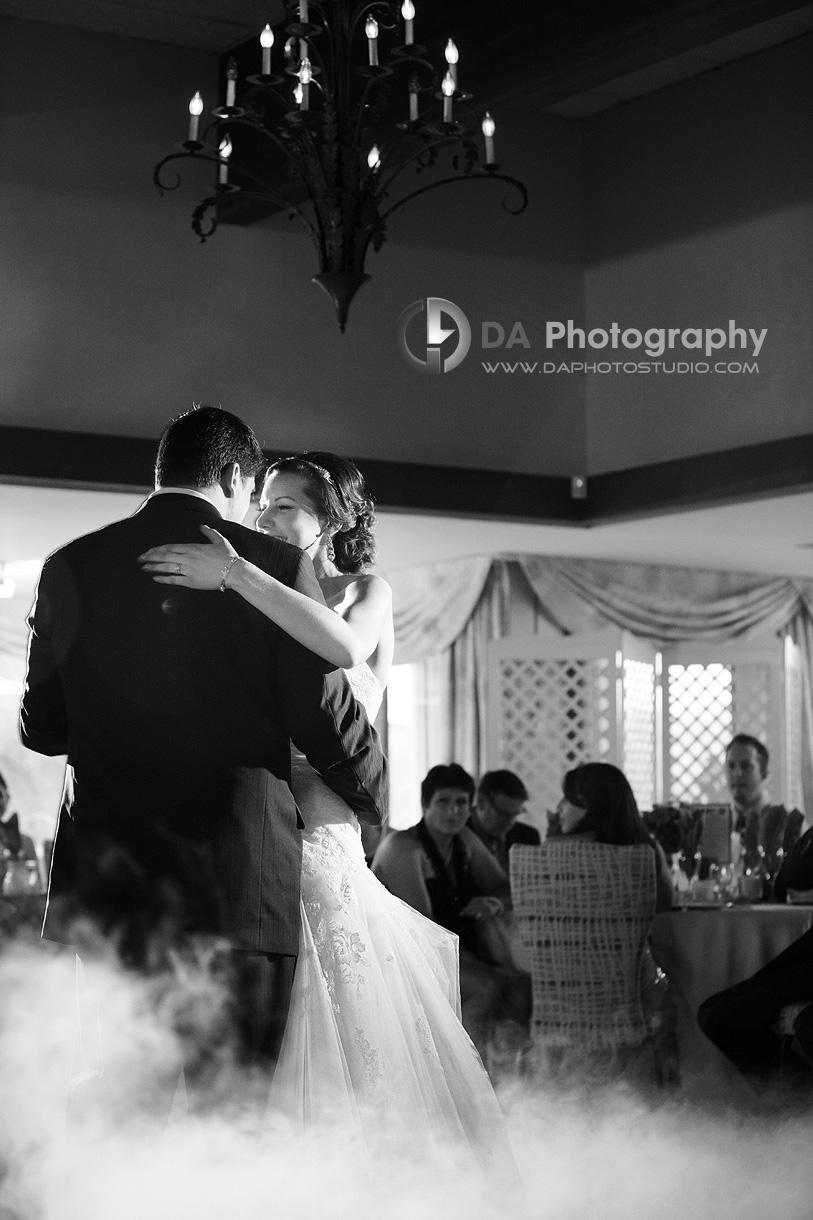 Fairy Tale Scene at their First Dance - DA Photography - Wedding Photographer
