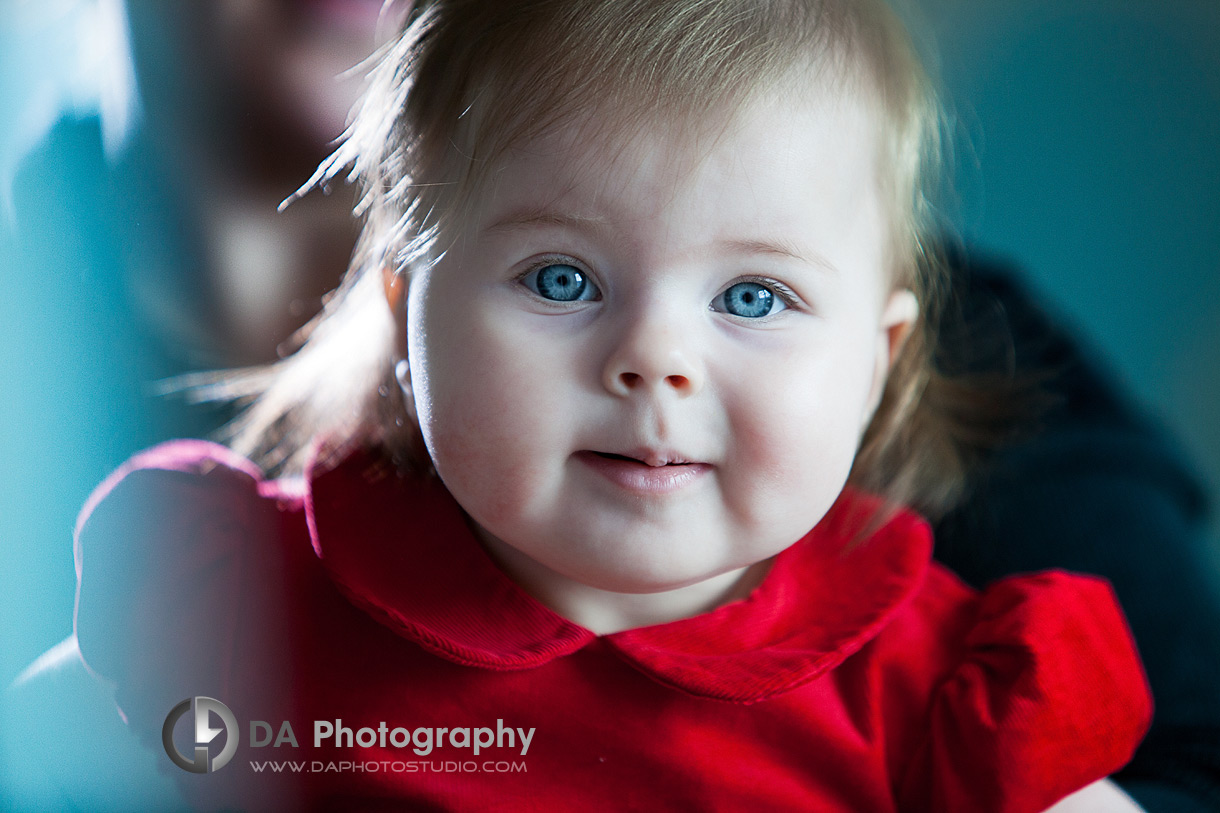 Blue eyes baby - Children Photographer