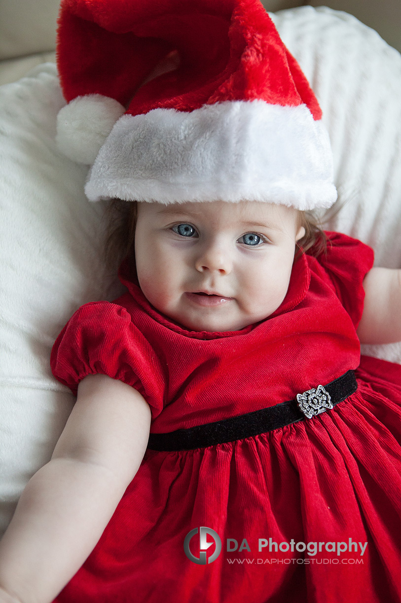 Baby's 1st Christmas session - Christmas Session - Children Photographer