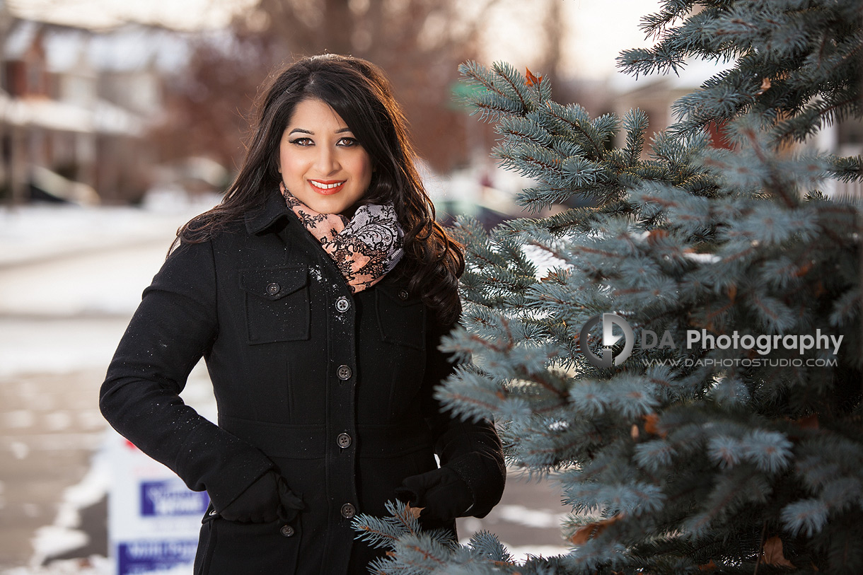 Real Estate Agent Winter Theme - Corporate Photographer