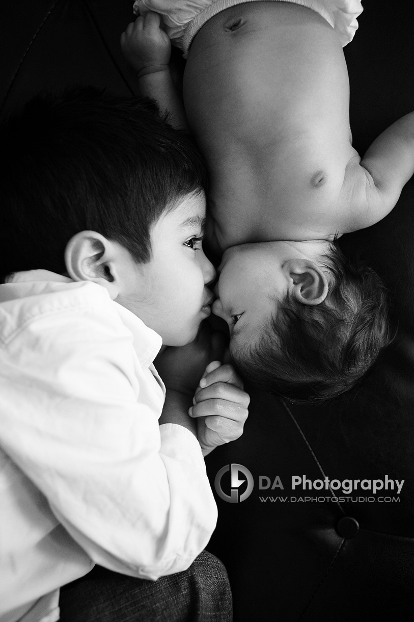 The most gentlest of kisses - Family Photographer