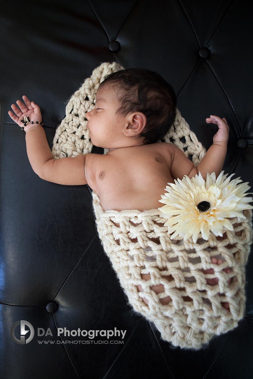 Peaceful Baby Girl - Family Photographer