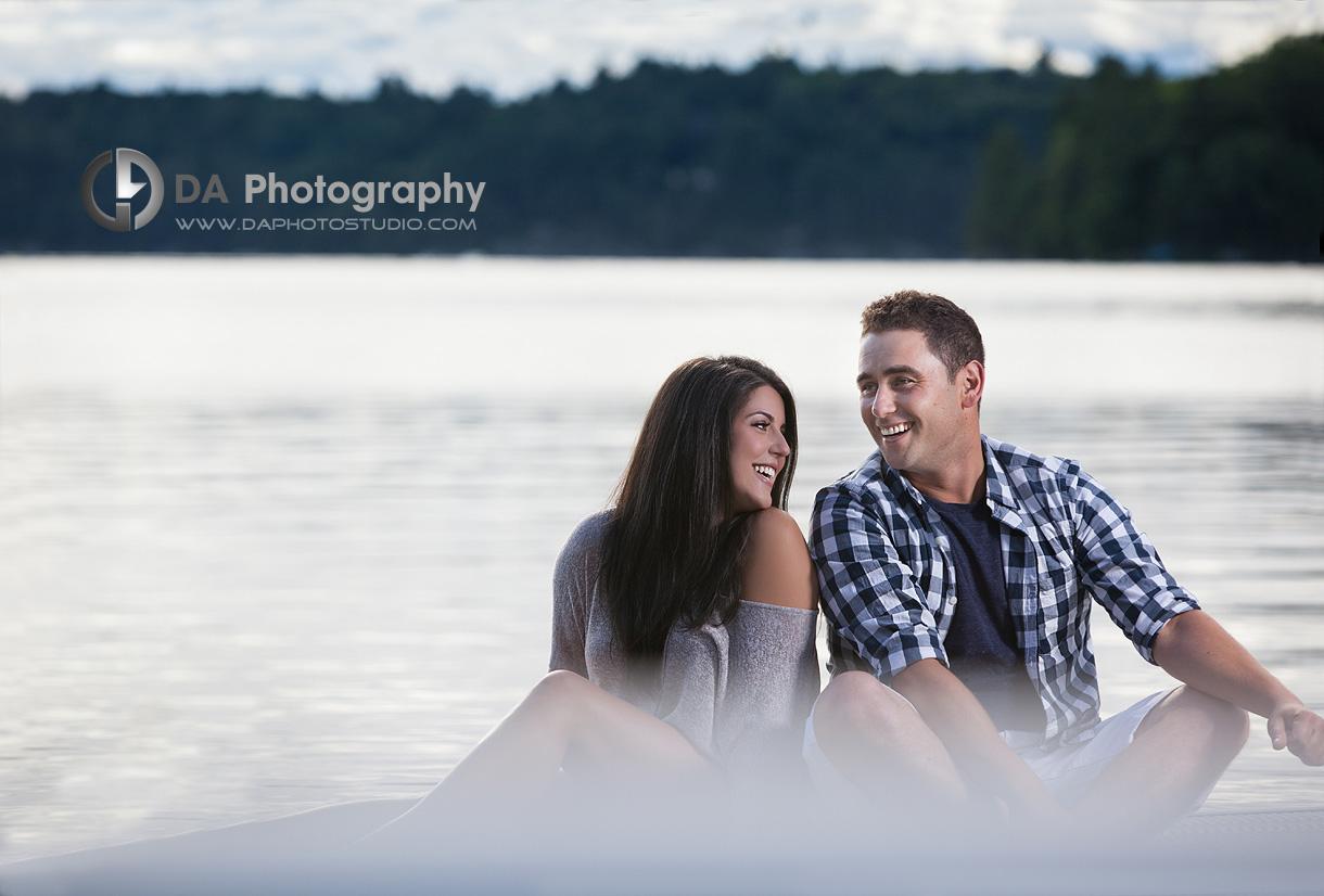 Muskoka Lakefront Outdoor Engagement Session- Wedding Photography by Dragi Andovski - www.daphotostudio.com
