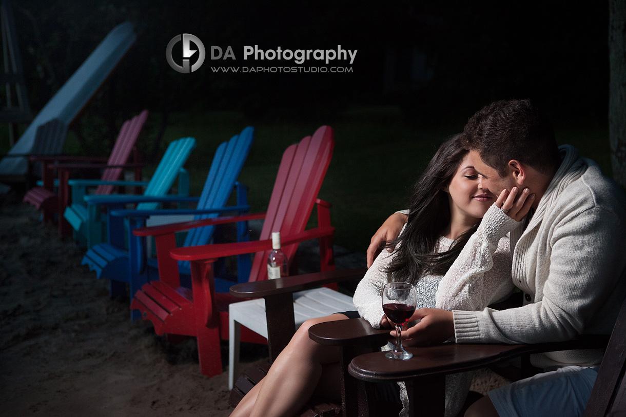 Engagement Session on the Beach - Wedding Photography by Dragi Andovski - www.daphotostudio.com