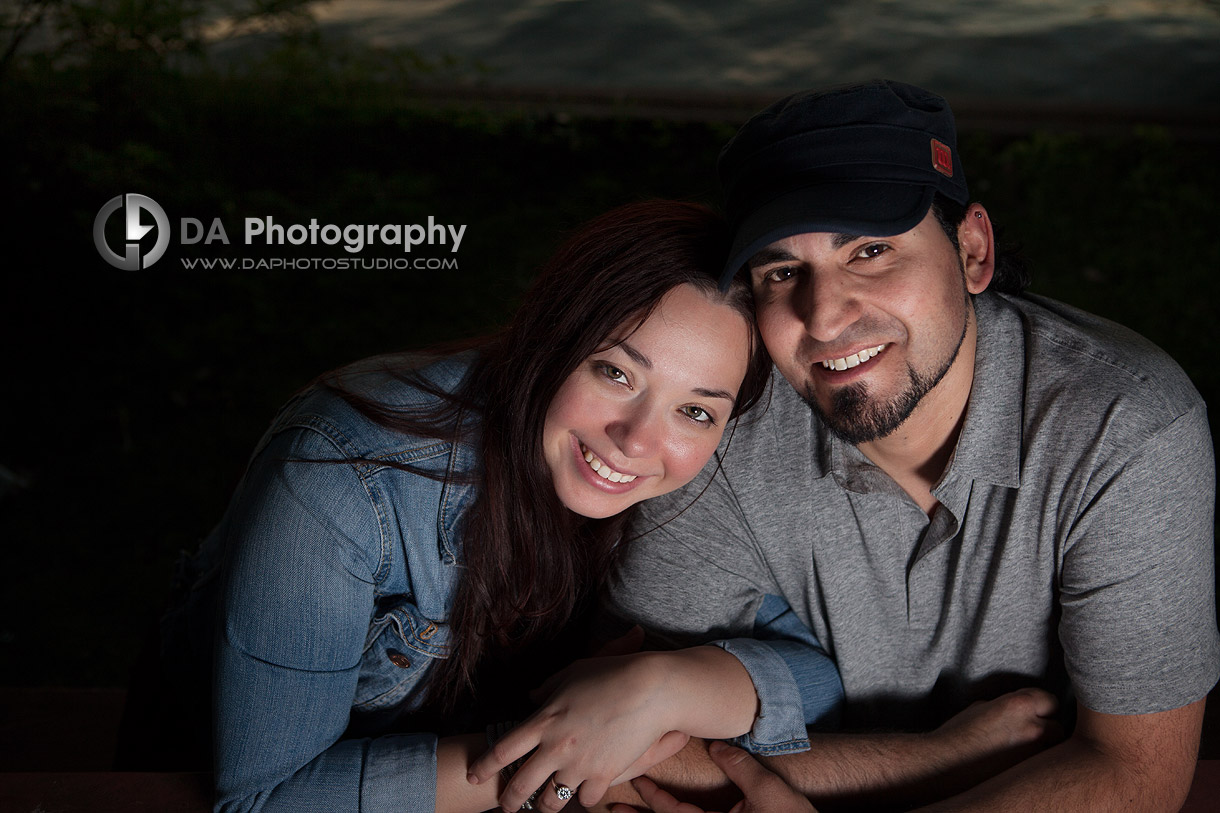 You and me at the Engagement Sunset Photo Session - Toronto Island - www.daphotostudio.com