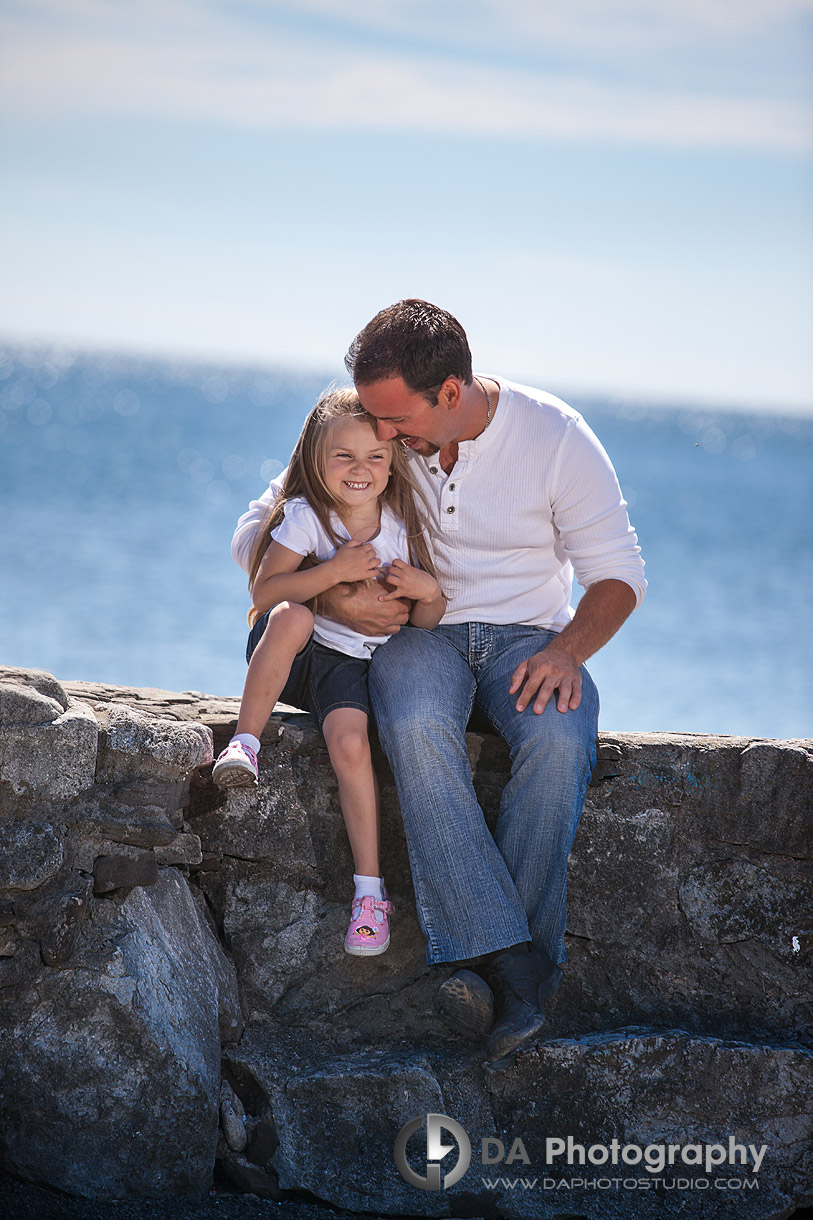 Daddy and his little girl fun - at Gairloch Gardens, Oakville by DA Photography , www.daphotostudio.com