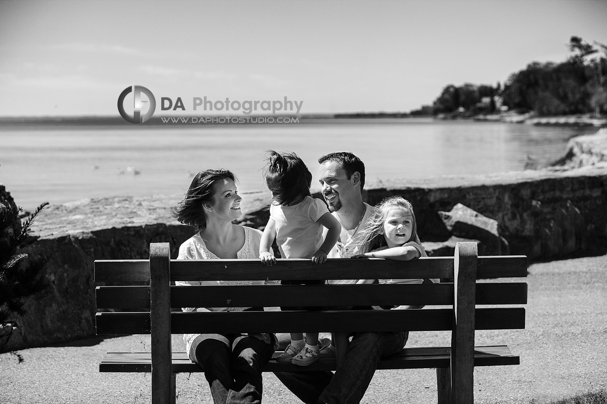 Family Play by the Lake - at Gairloch Gardens, Oakville by DA Photography , www.daphotostudio.com