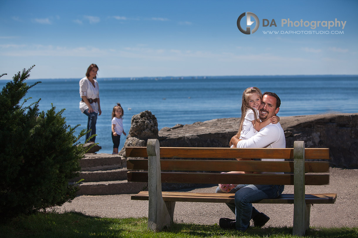 Family Play captured into photo - at Gairloch Gardens, Oakville by DA Photography , www.daphotostudio.com