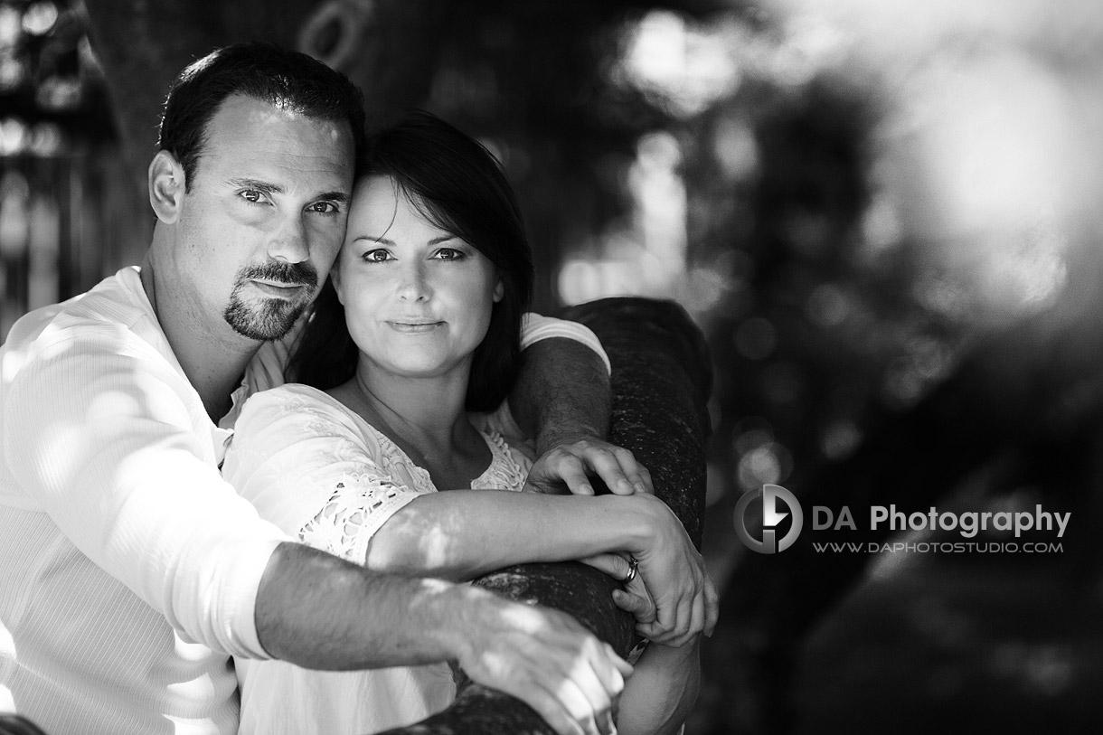 Parents portrait - at Gairloch Gardens, Oakville by DA Photography , www.daphotostudio.com
