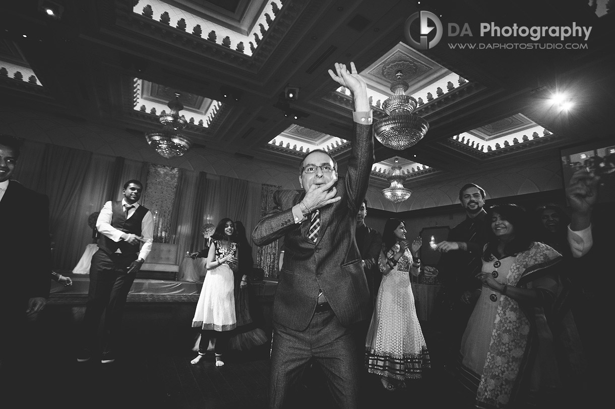 Indian Wedding Party Reception at Grand Empire in Brampton