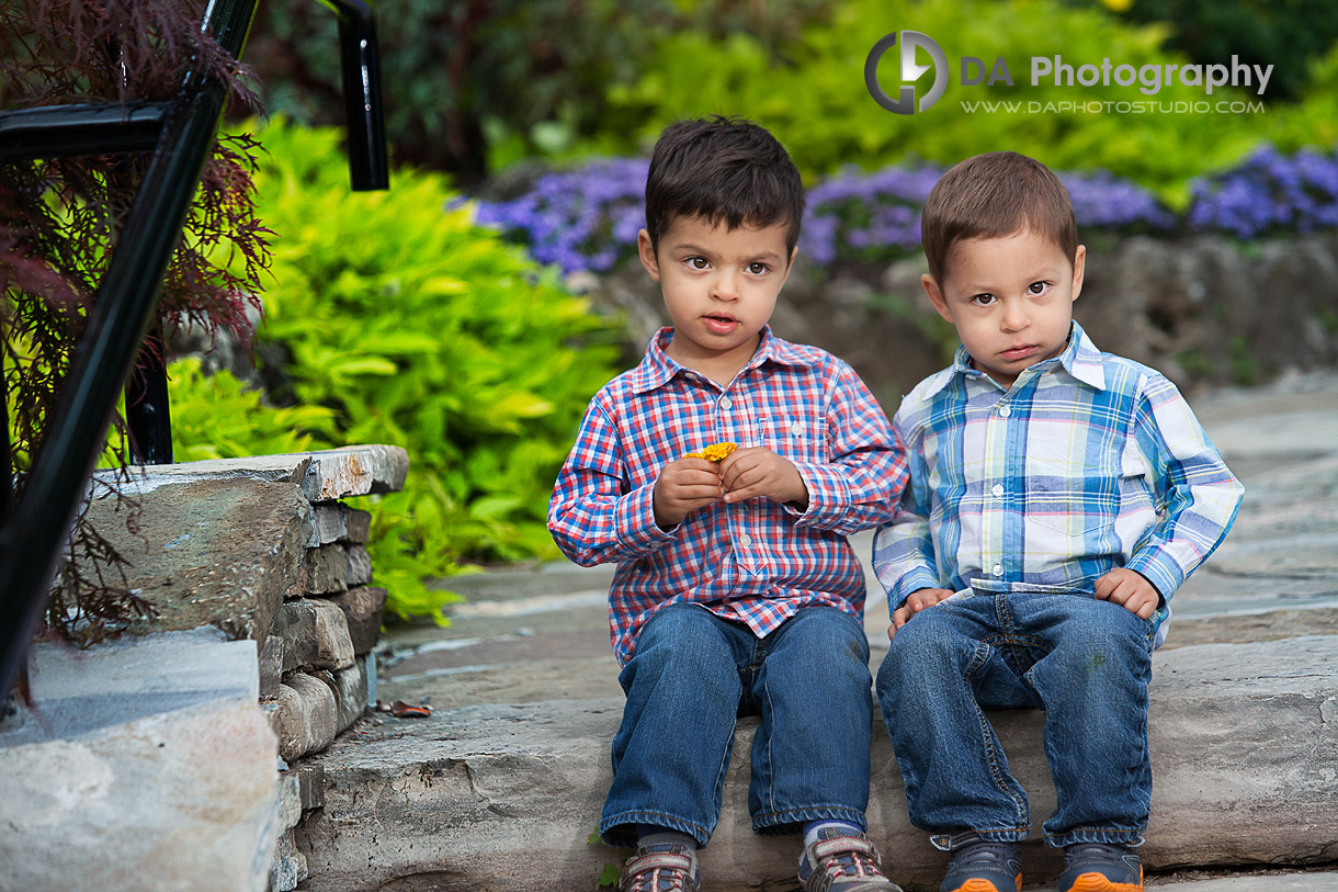 Twins Portrait in Oakville and their personalities