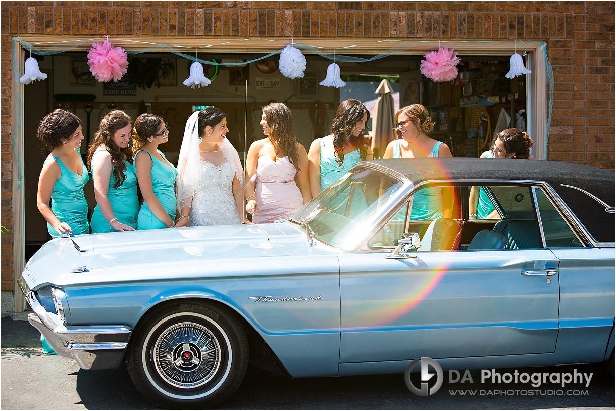 Bridesmaids in Hamilton
