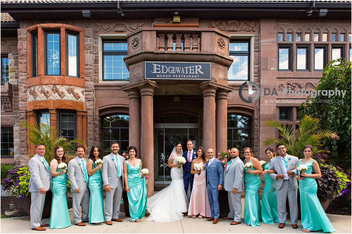 Bridal Party at Edgewater Manor in Stoney Creek