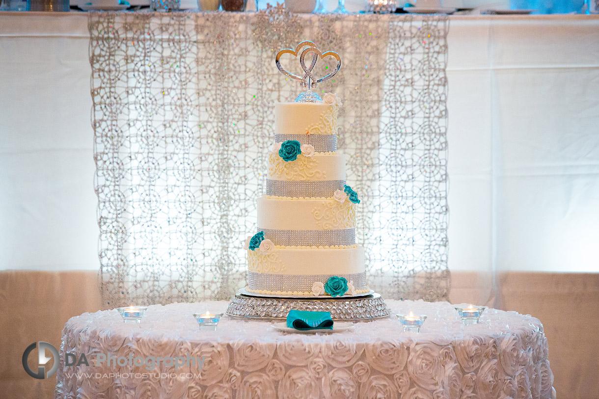 Cake on Italyan Style Wedding at Carmen's in Hamilton
