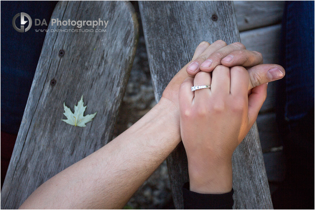 Engagement Ring at Long Point Eco-Adventures