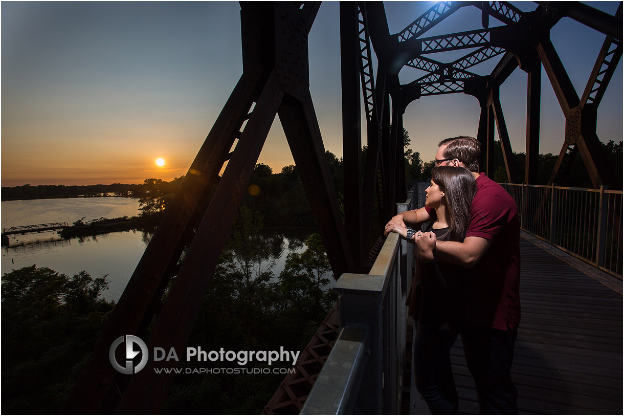Sunset Engagement Photos in Norfolk County