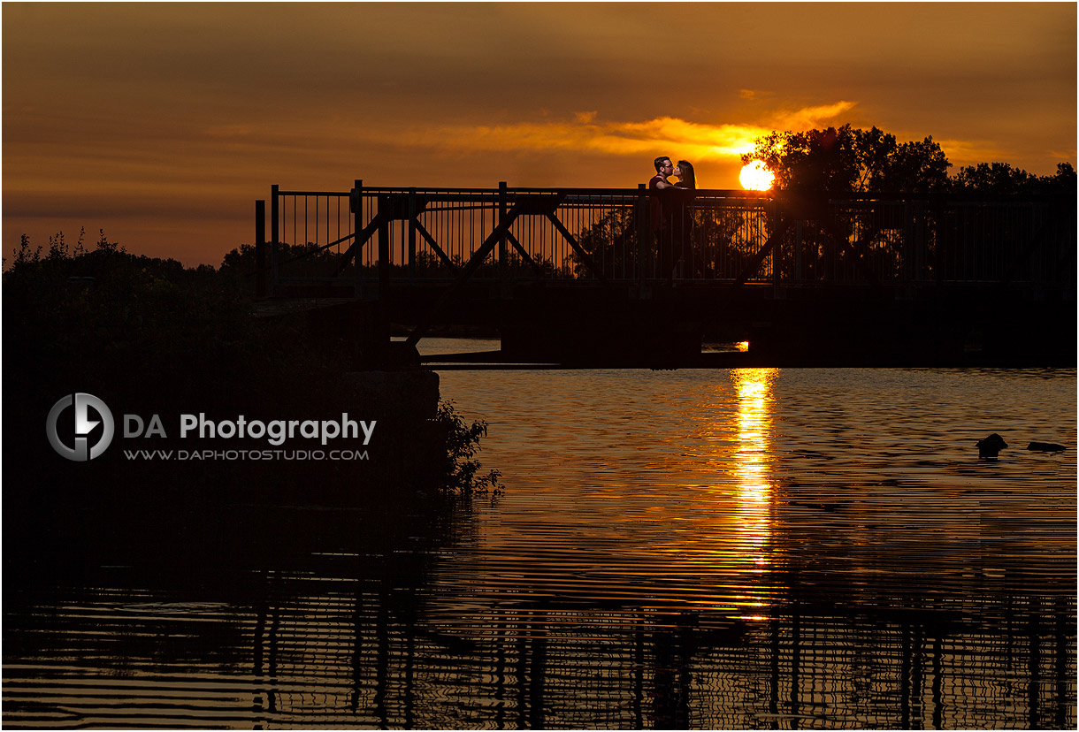 Sunset Engagement Photos in Port Dover