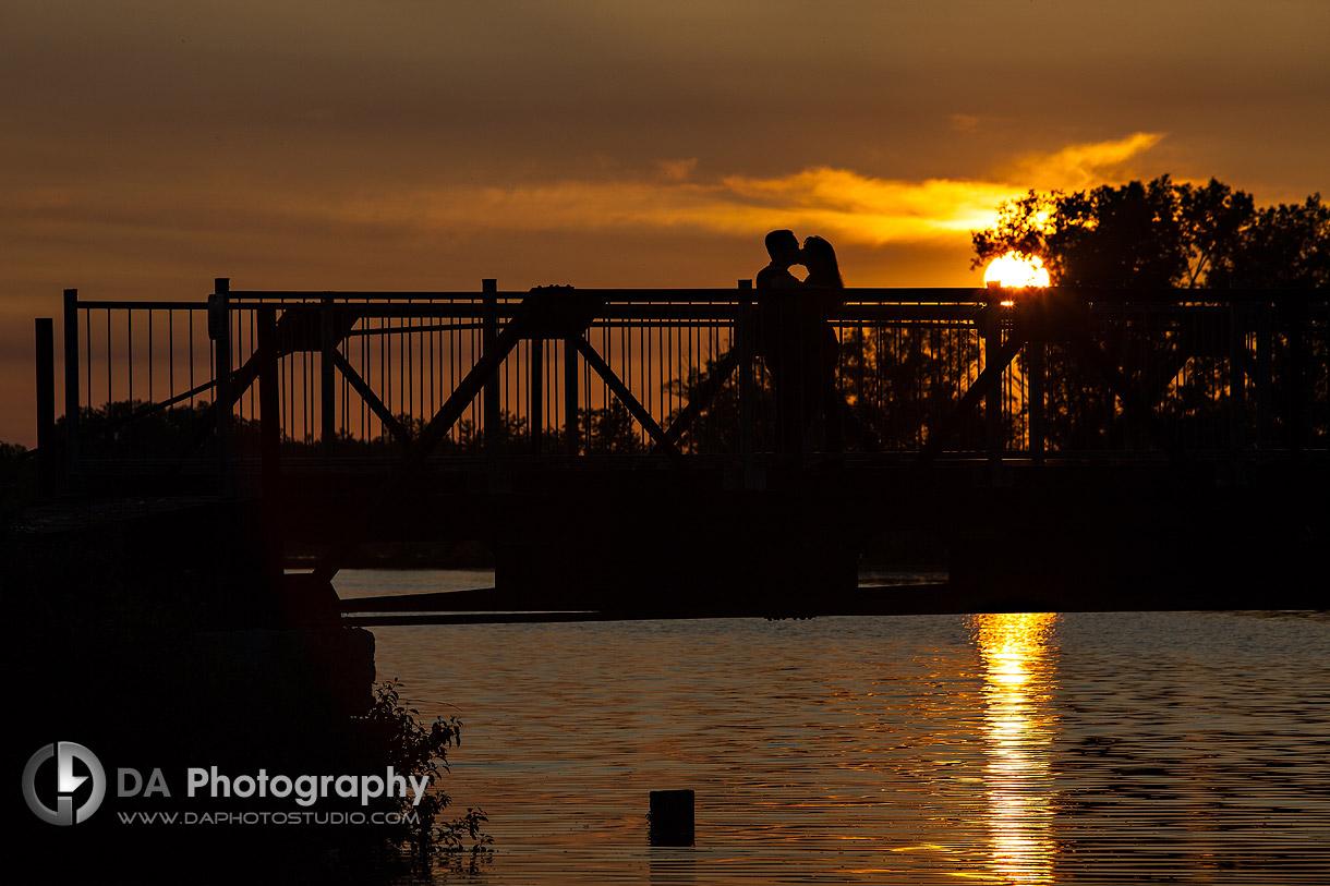 Port Dover Sunset Engagement Photos