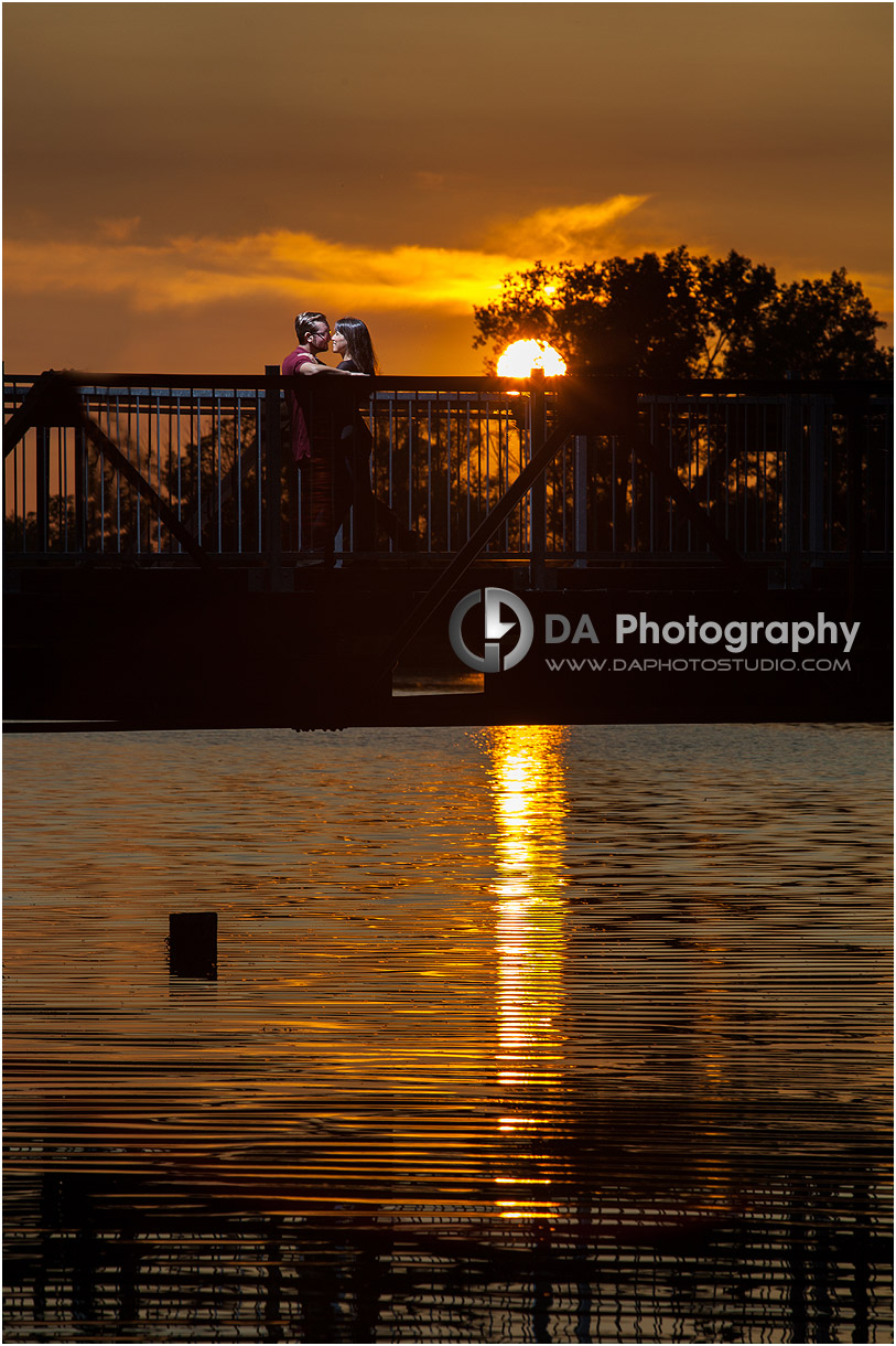 Port Dover Sunset Engagement Photographer