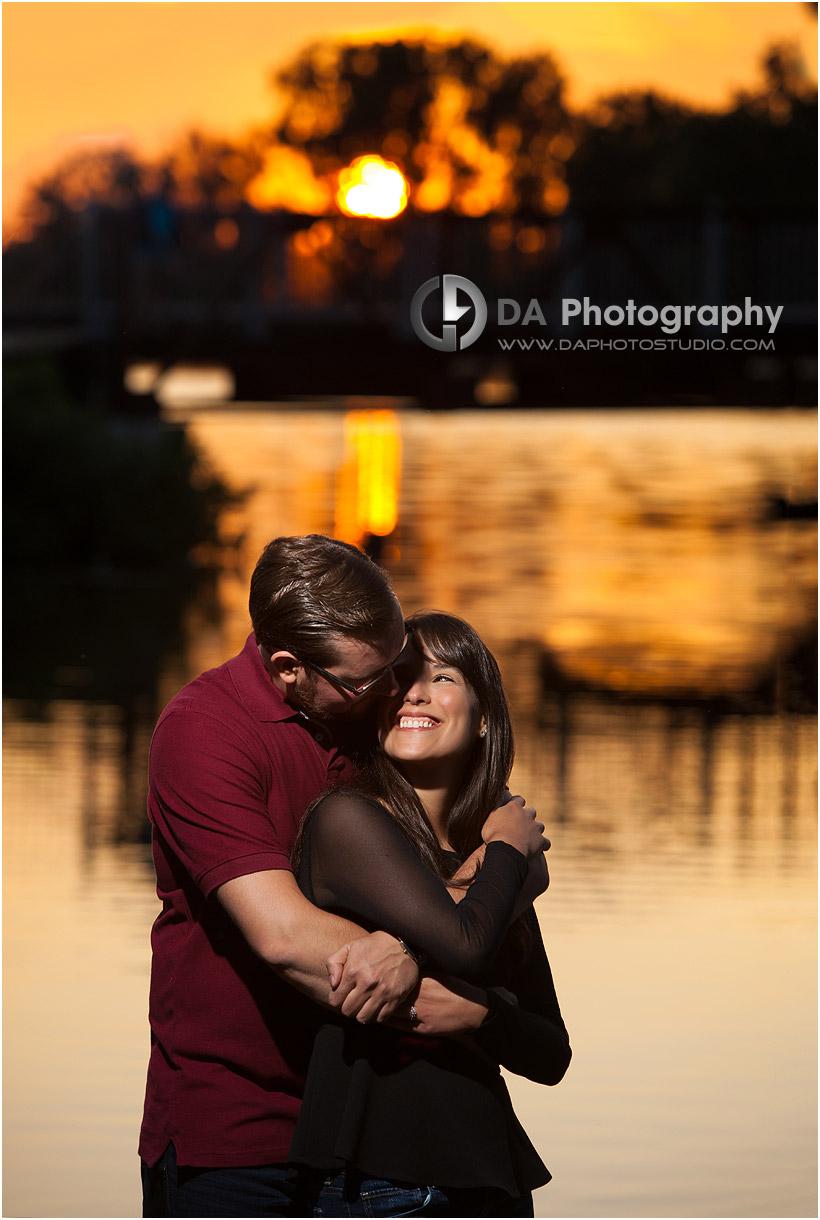 Port Dover Sunset Engagement Photographers