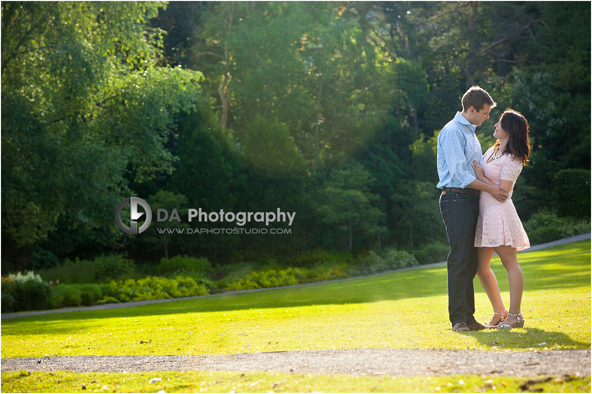 Engagement Picture at Paletta Mansion