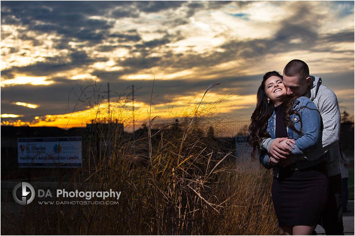 Best Photographer for High school engagement in Hamilton