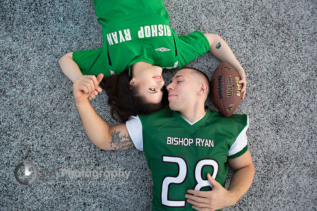 High school engagement Picture in Hamilton