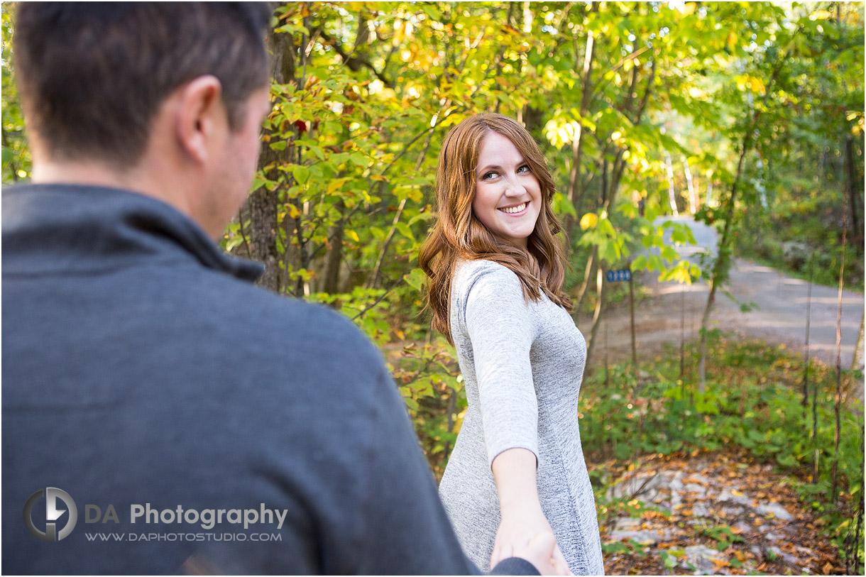 Muskoka Fall Engagement Photography