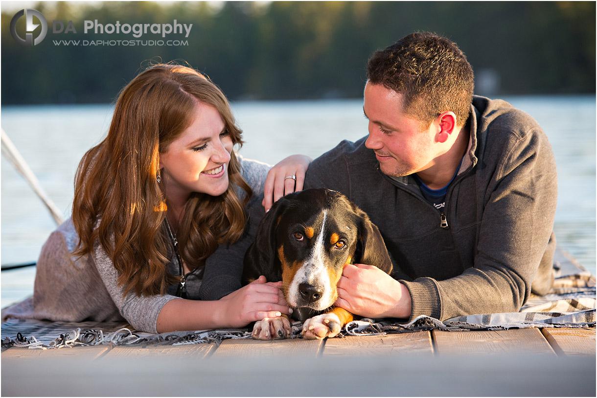 Muskoka Fall Engagement Photographers