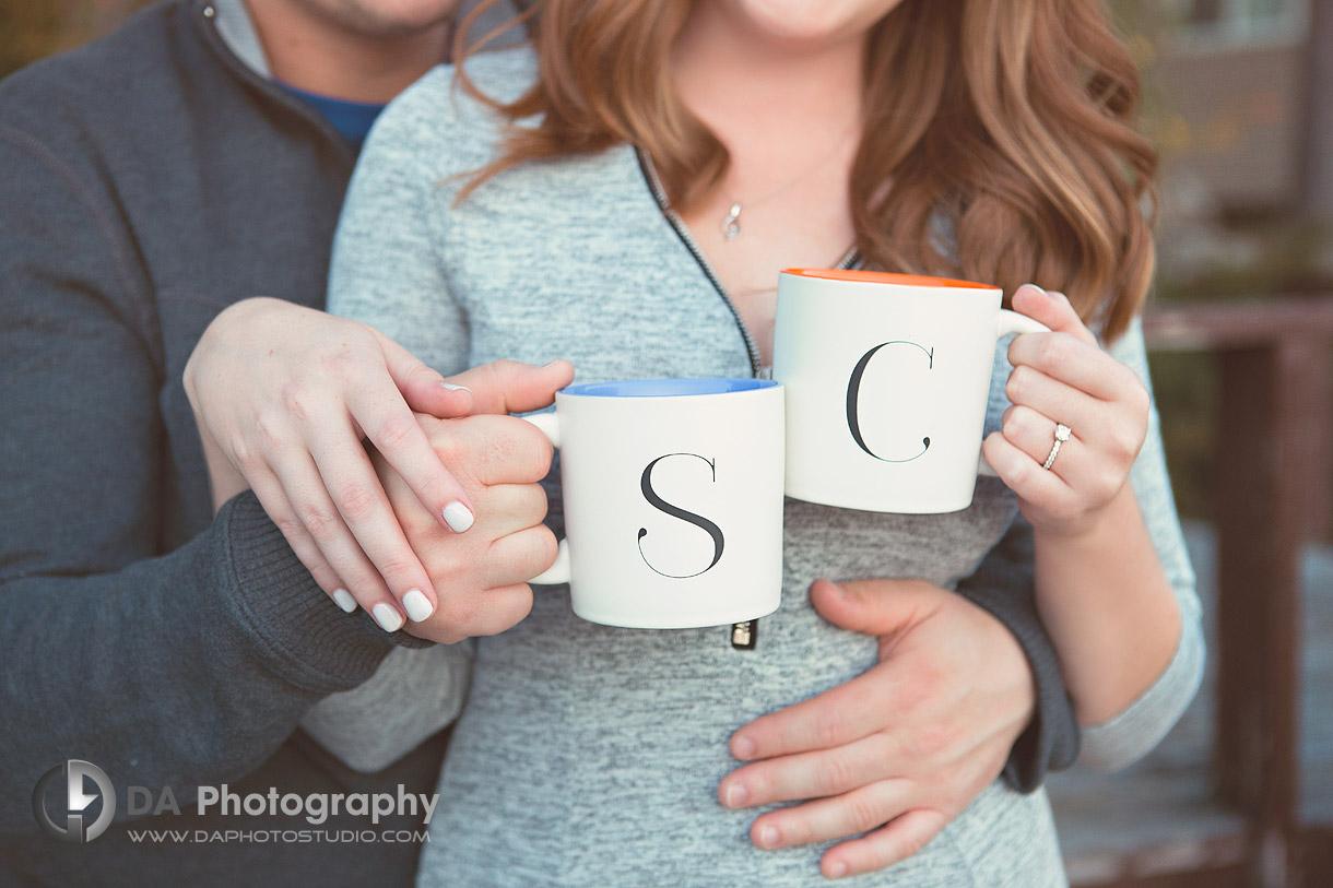 Muskoka Fall Engagement Photographer