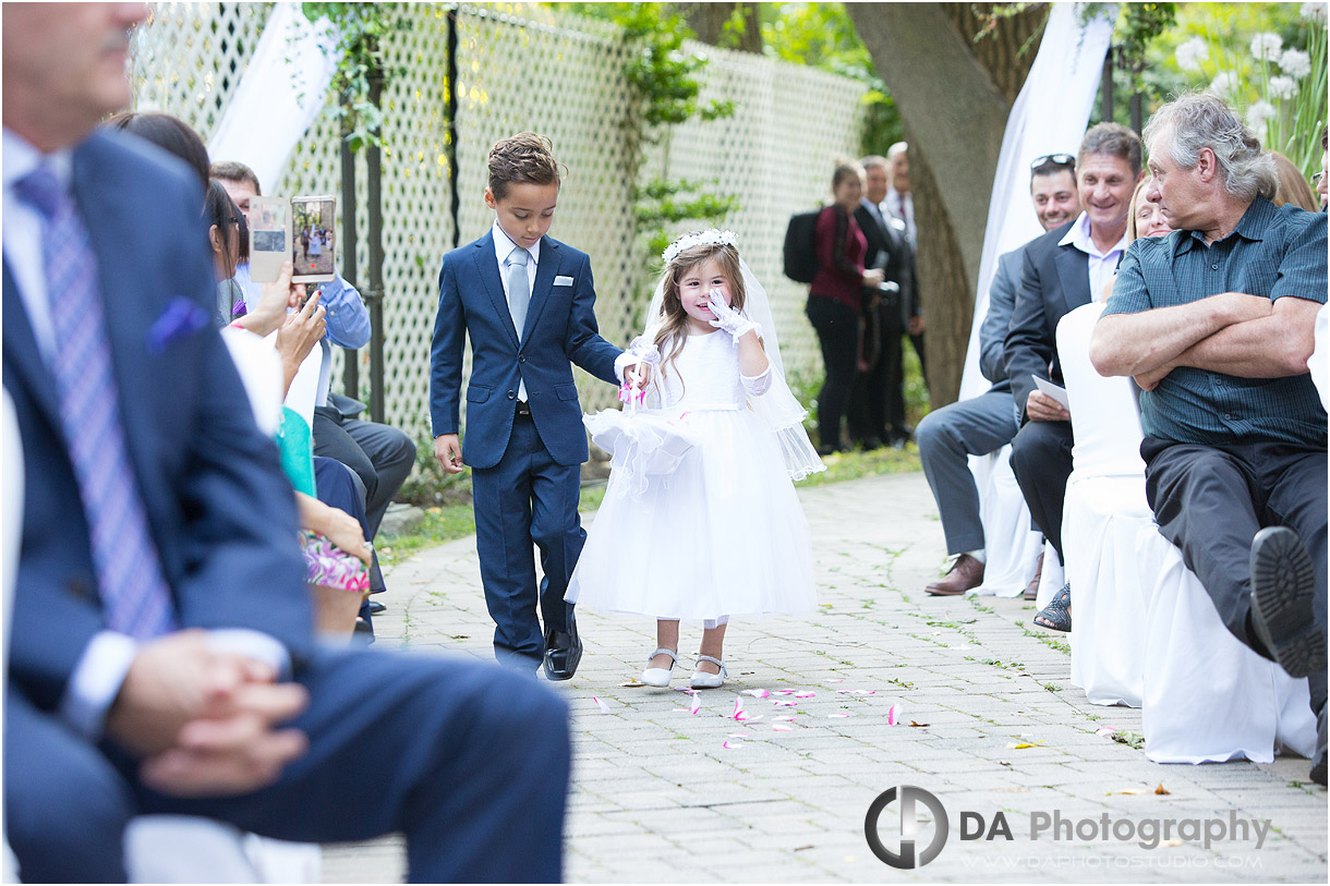 Toronto Fall Wedding at Old Mill Garden