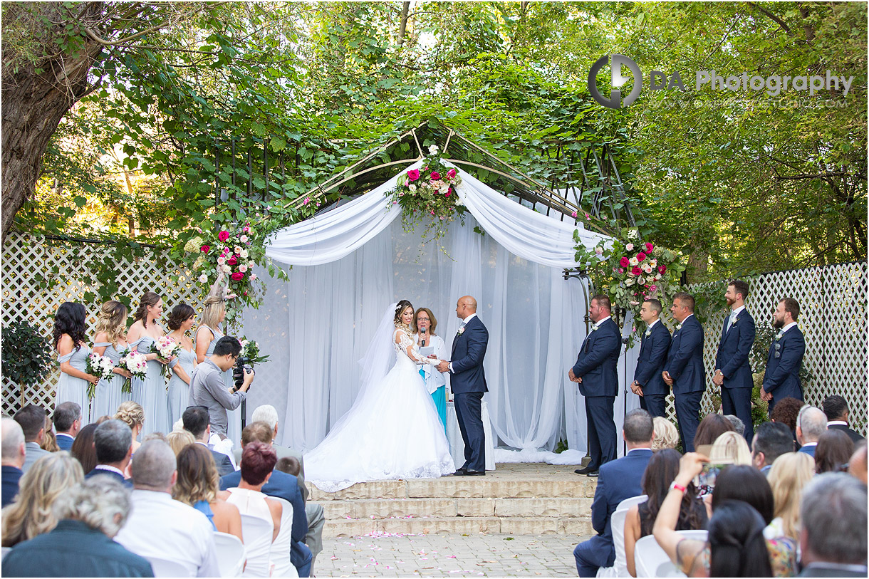 Outdoor Weddings at Old MIll