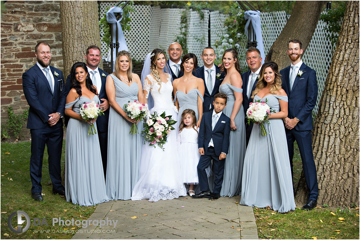 Bridal Party Fall Wedding Pictures