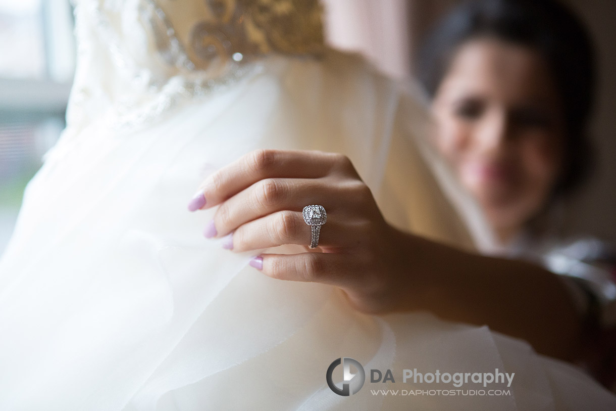 Bride in Milton
