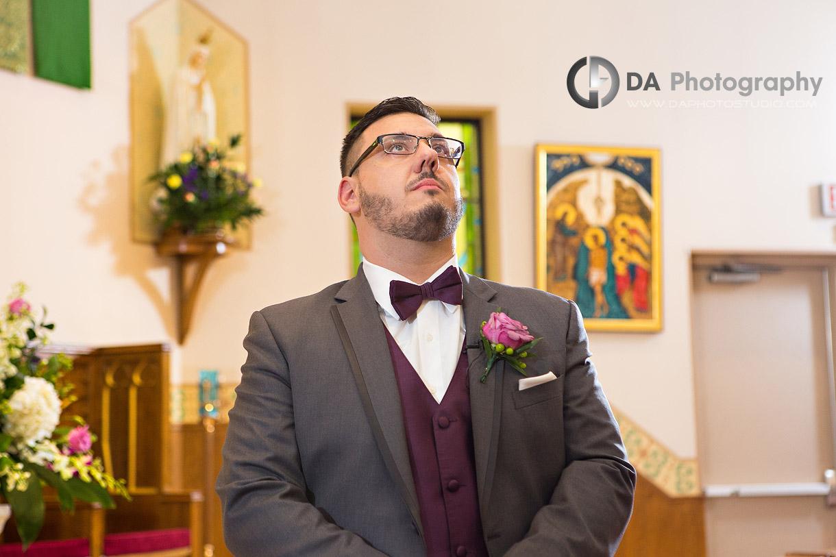 Church Wedding Ceremony in Mississauga