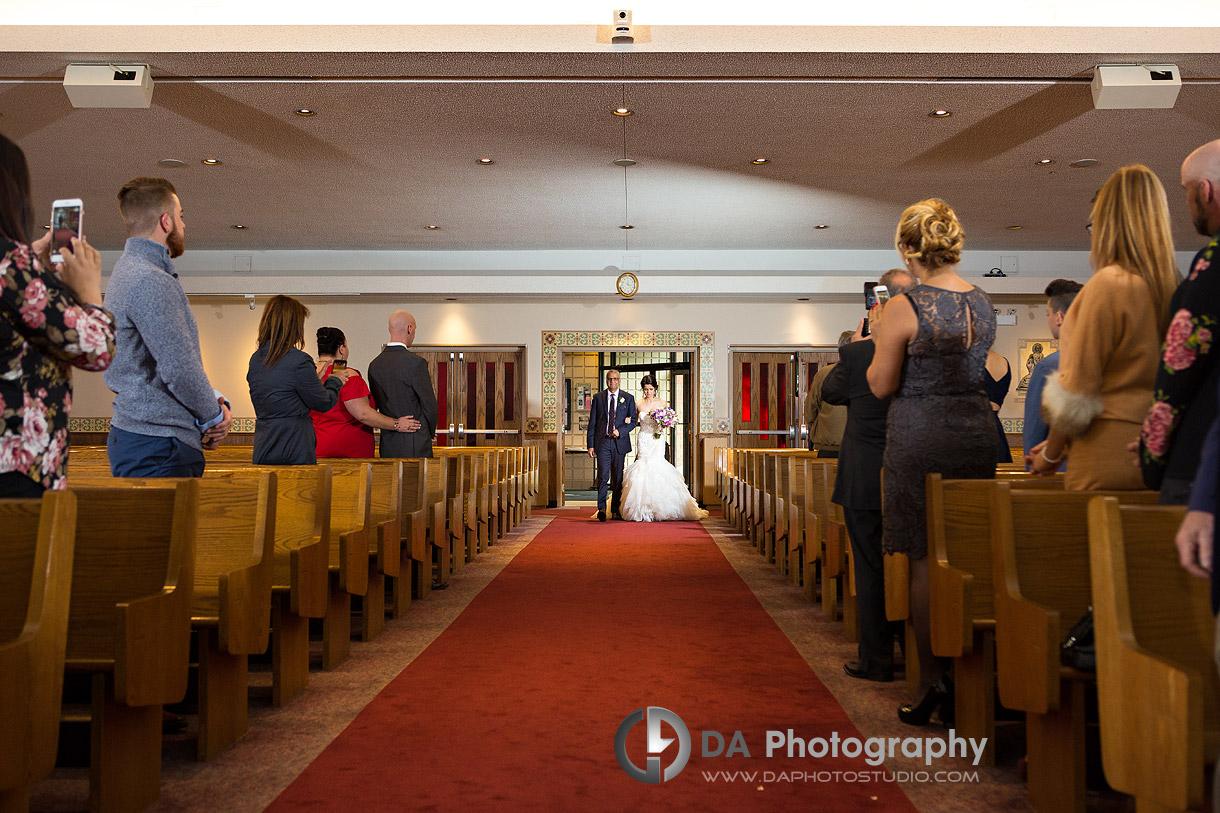 Church Wedding Ceremonies in Mississauga