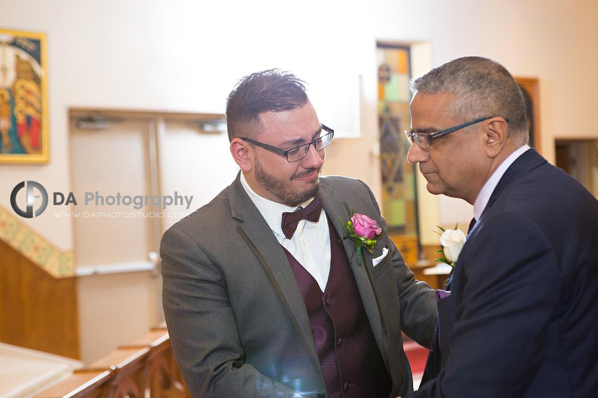 Mississauga Church Wedding