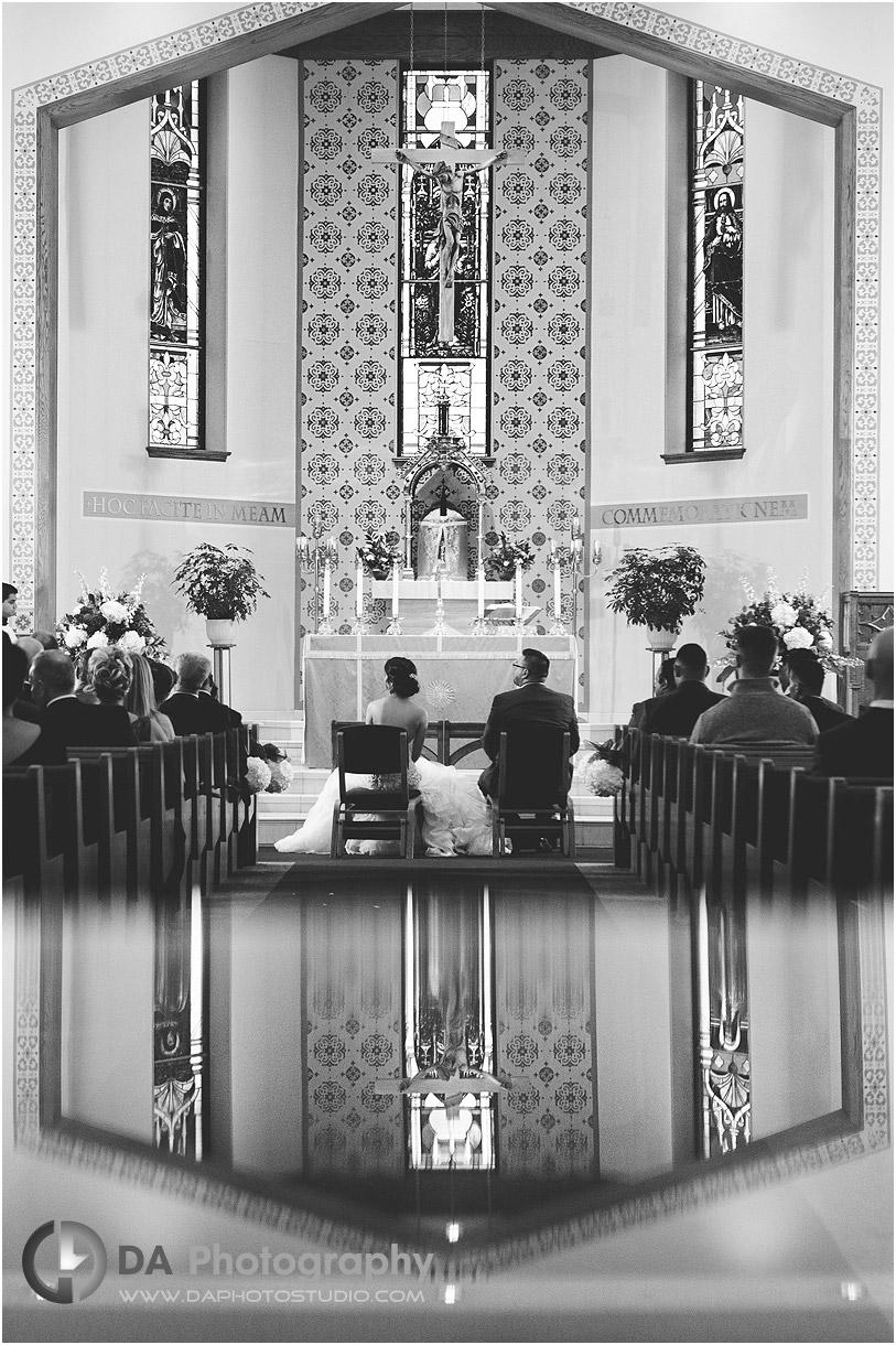 Mississauga Church Wedding Photographs